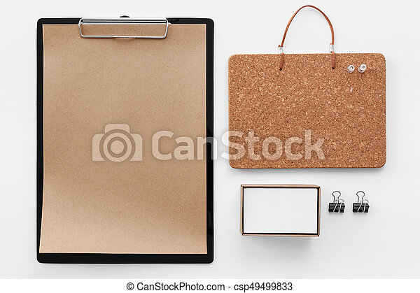 clipboard and stationery mockup eco stationary mockup clipboard