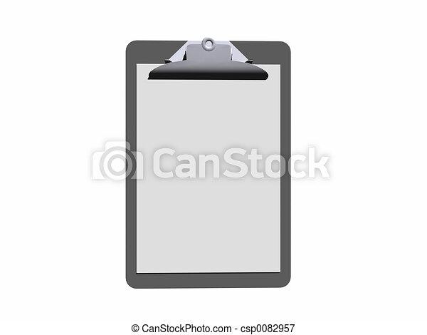 clipboard. - csp0082957