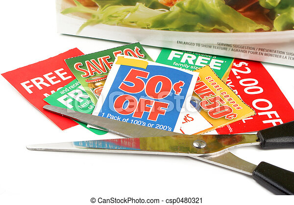 clipping coupons - csp0480321