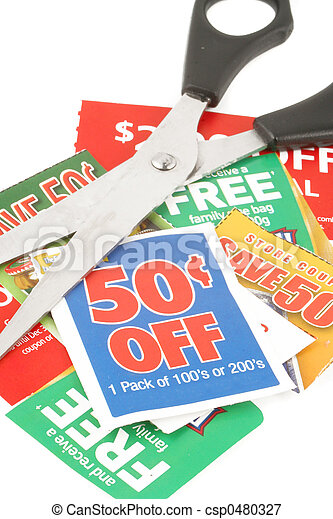 clipping coupons - csp0480327