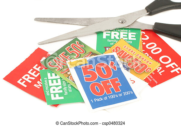 clipping coupons - csp0480324