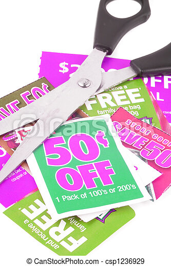 clipping coupons - csp1236929