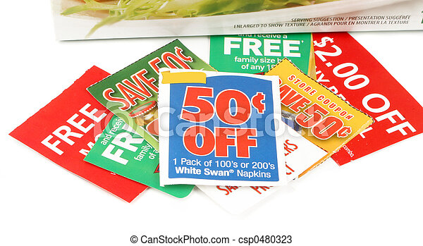 clipping coupons - csp0480323