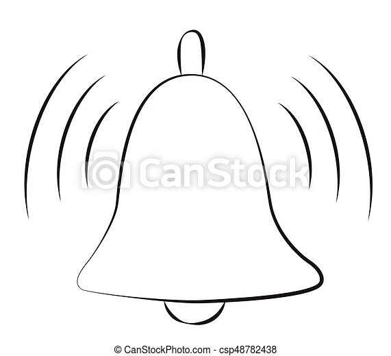 Cloche notification image symbole icon dessin anim cloche notification image symbole - Dessin de cloche ...