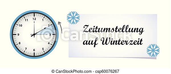 clock change winter time - csp60076267