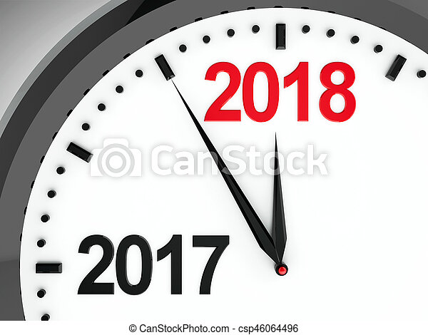 Clock dial 2017-2018 - csp46064496