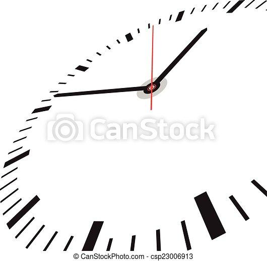 Clock face - csp23006913