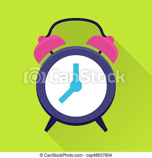 Clock flat icon - csp48637604