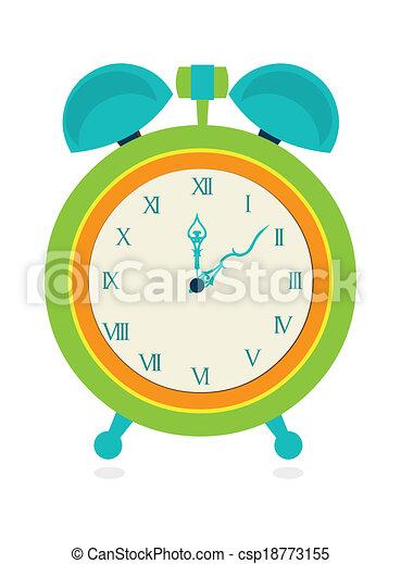 clock icon - csp18773155