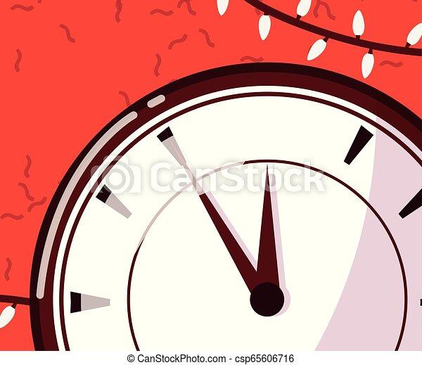 clock icon image - csp65606716