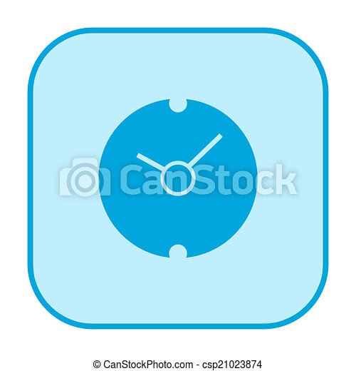 Clock icon - csp21023874