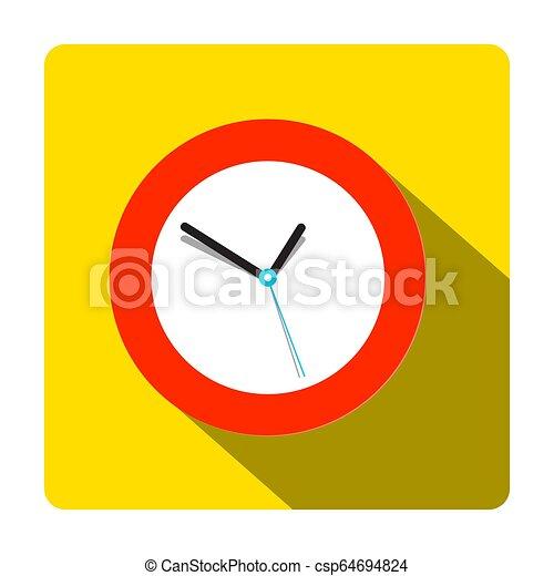 Clock Icon. Vector Time Symbol. - csp64694824