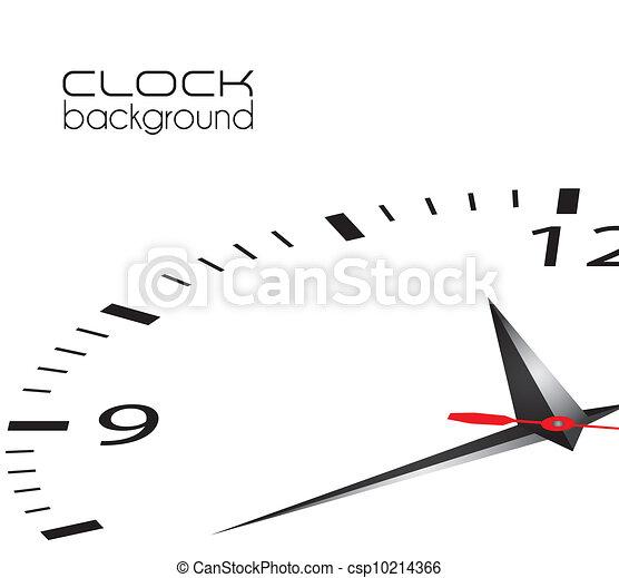 clock illustration  - csp10214366