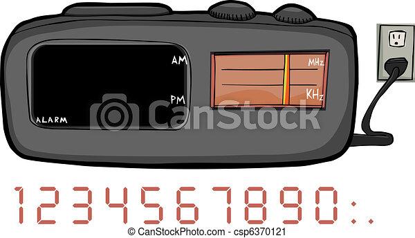Clock Radio - csp6370121