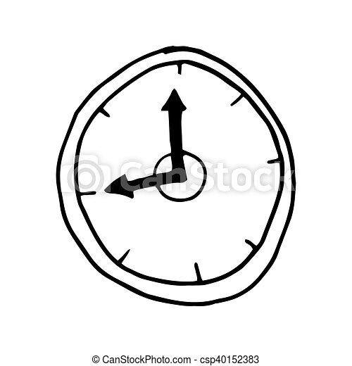 clock time watch clock watch time instrument drawn design vector rh canstockphoto com watch victorious free watch vector hd