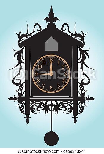 clock. - csp9343241