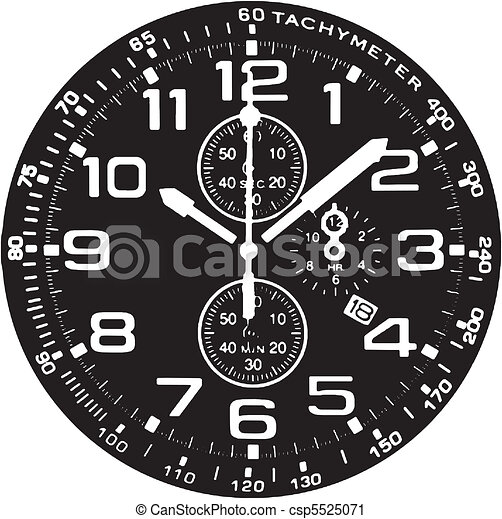 Clock Watch - csp5525071