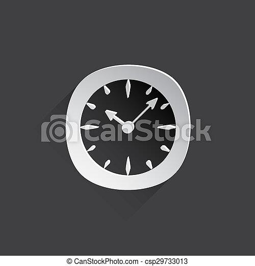 clock web icon. - csp29733013