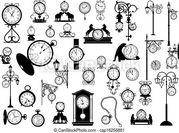Clocks and watches  - csp16256881