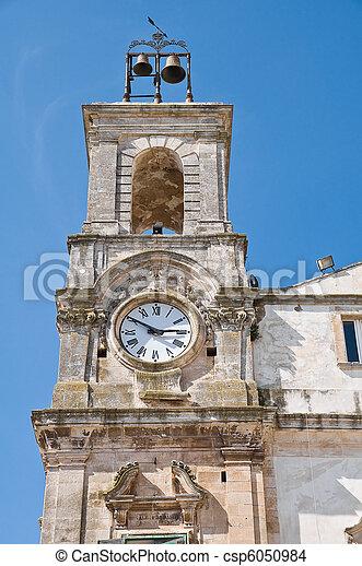 Clocktower. Martina Franca. Apulia. - csp6050984