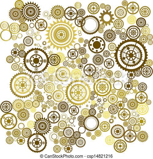 clockwork background - csp14821216