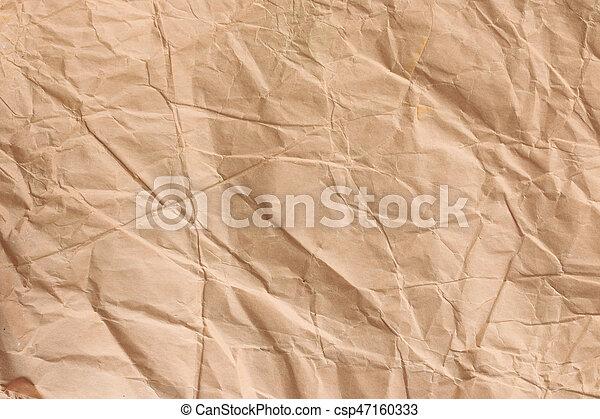 close up brown paper vintage paper background