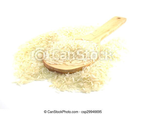 close up jusmin rice - csp29946695