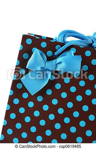 Close-up of a gift bag. - csp0619485