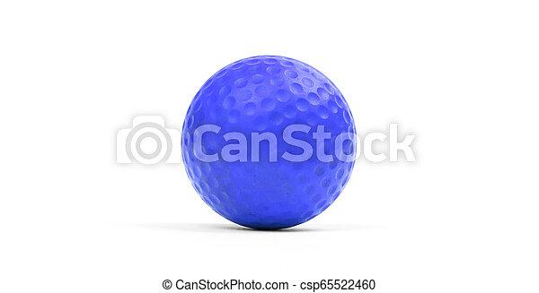 Close-up of a golf ball - csp65522460