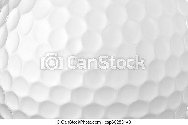 Close up of a golf ball - csp60285149