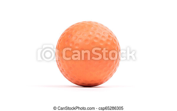Close-up of a golf ball - csp65286305
