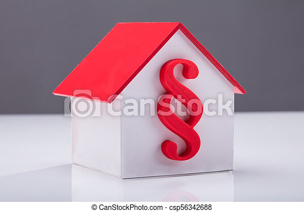 Close-up Of A House Model - csp56342688