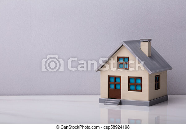 Close-up Of A House Model - csp58924198