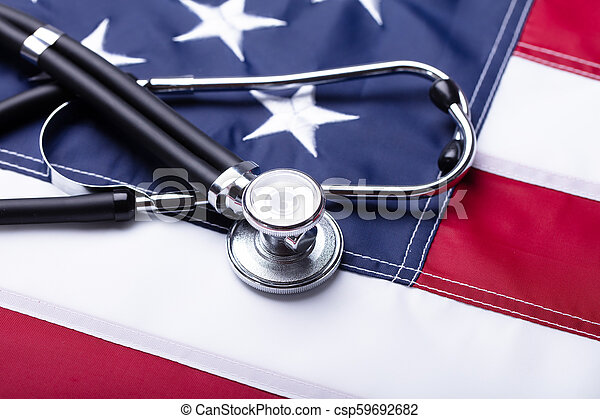 Close-up Of A Stethoscope - csp59692682
