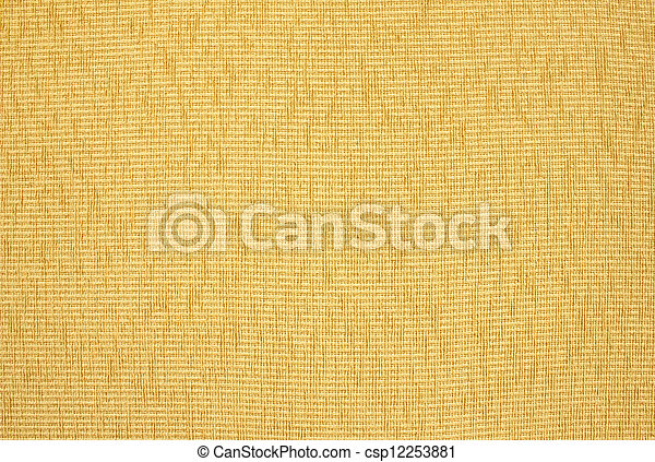 Close up of beige upholstery texture - csp12253881