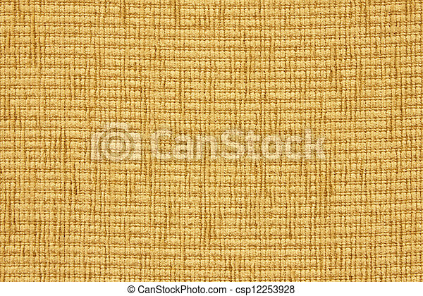 Close up of beige upholstery texture - csp12253928