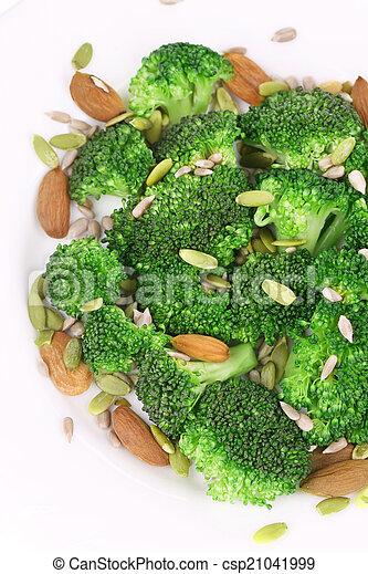 Close up of broccoli salad. - csp21041999