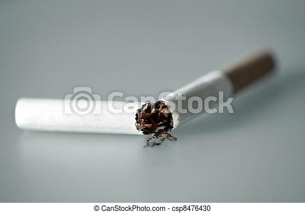 Close up of cigarette - csp8476430