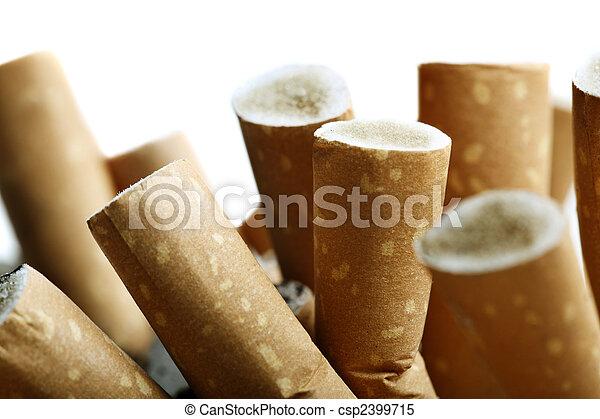 Close up of cigarettes - csp2399715