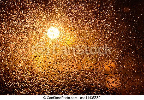 Close up of drops - csp11435550