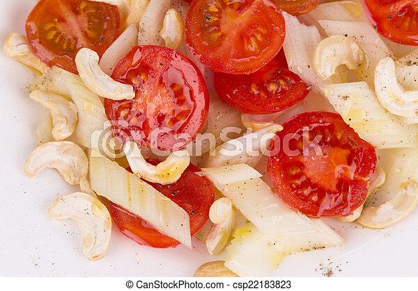Close up of fitness salad. - csp22183823