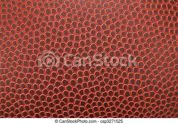 Close-up of Football Texture - csp3271525