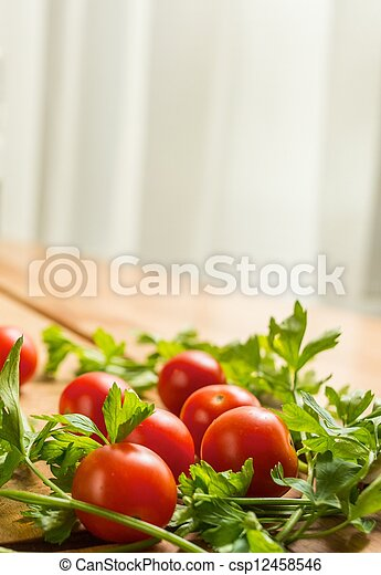 Close-up of fresh vegetables - csp12458546