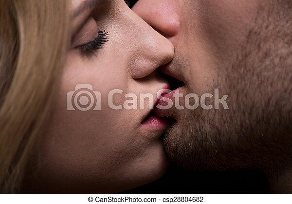 close up kiss images