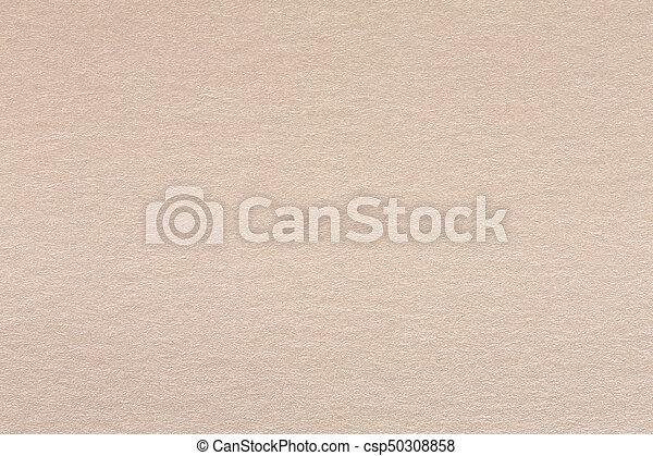 Close up of light beige paper texture. - csp50308858