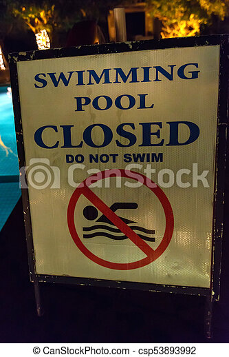 d71f67fd316 Close up of signs in swimmimg pool. Close-up of swimming pool no ...