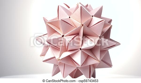 Transforming Origami Spikey Ball by psycomoon on DeviantArt   272x450