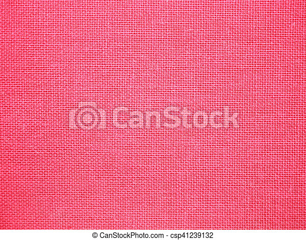 Close up red fabric textured background for scrap booking - csp41239132