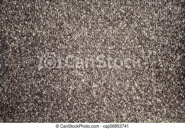 Close up view of fabric / textile background. - csp56853741