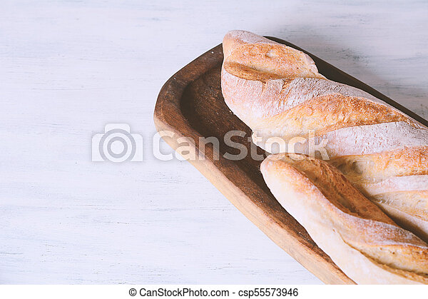 Close up view of tasty bread - csp55573946
